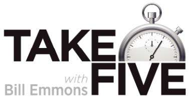 TakeFive with Bill Emmons logo